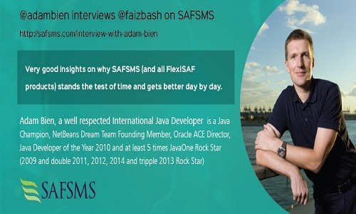 Why SAFSMS Gets Better Every Day – Interview With Adam Bien