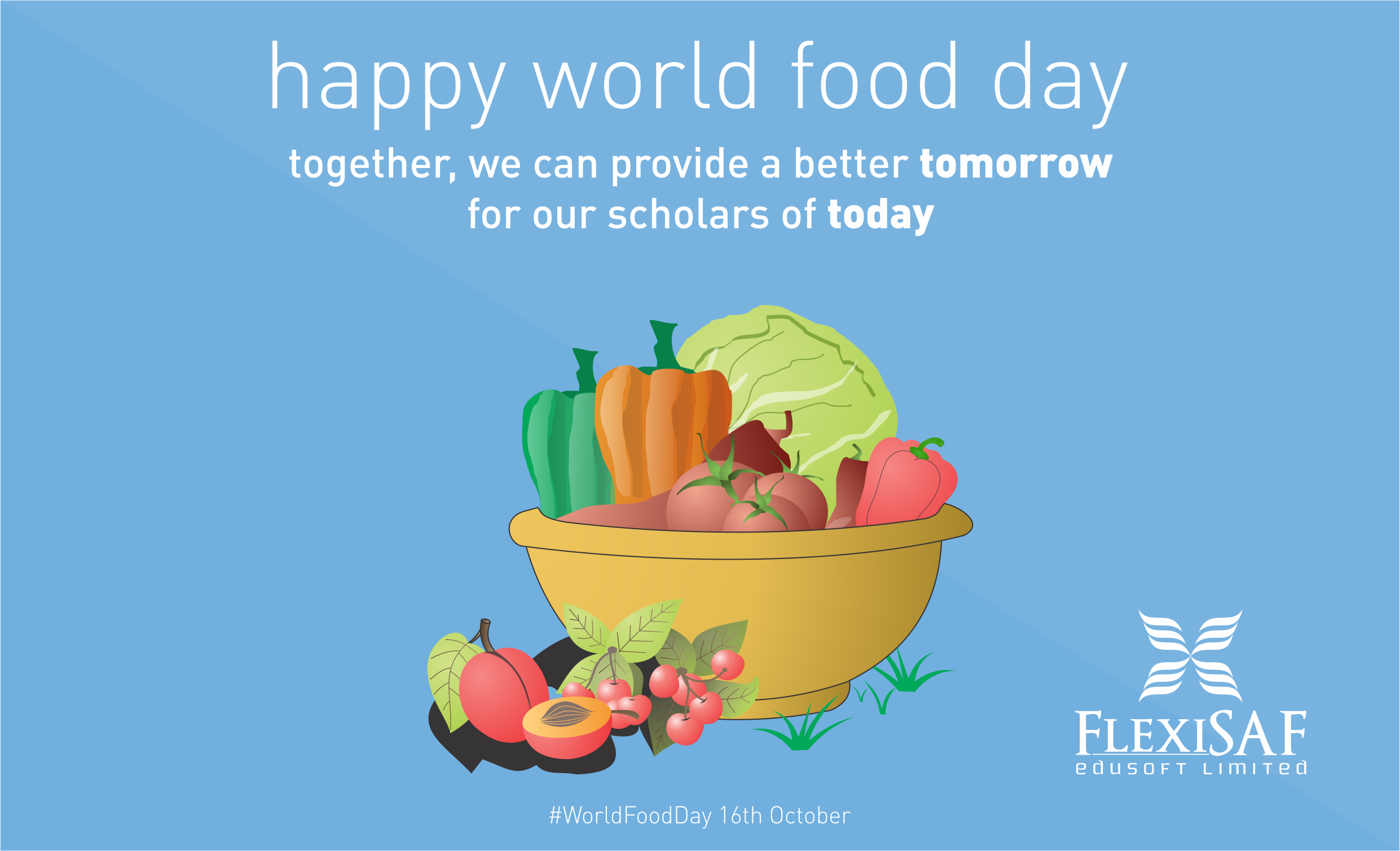 Flexisaf Doodle - world food day