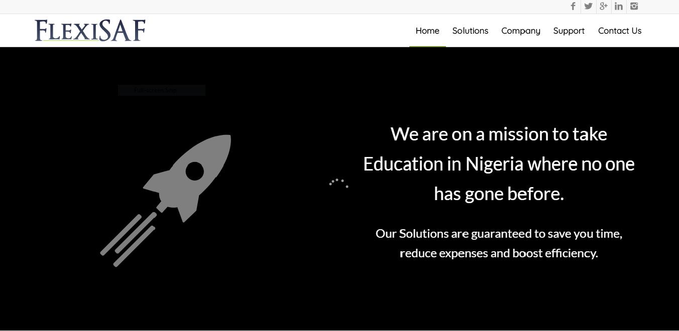edtech in nigeria - flexisaf