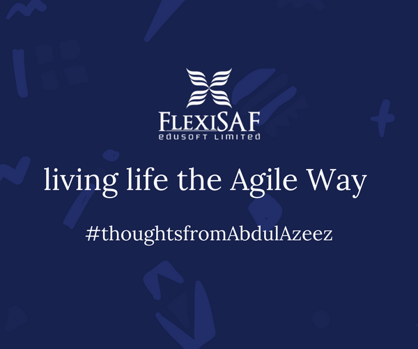 Living Life the Agile Way