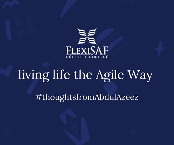 Living Life the Agile Way