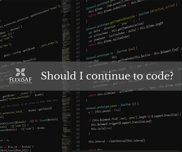 Should I continue to Code?