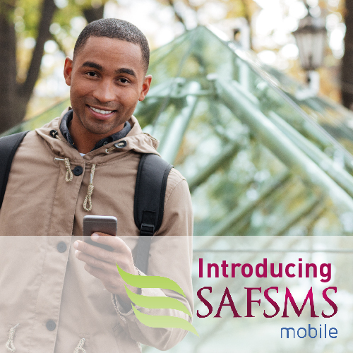 introducing safsms mobile