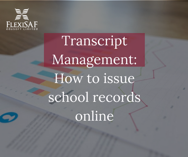 Online transcript management in Nigeria