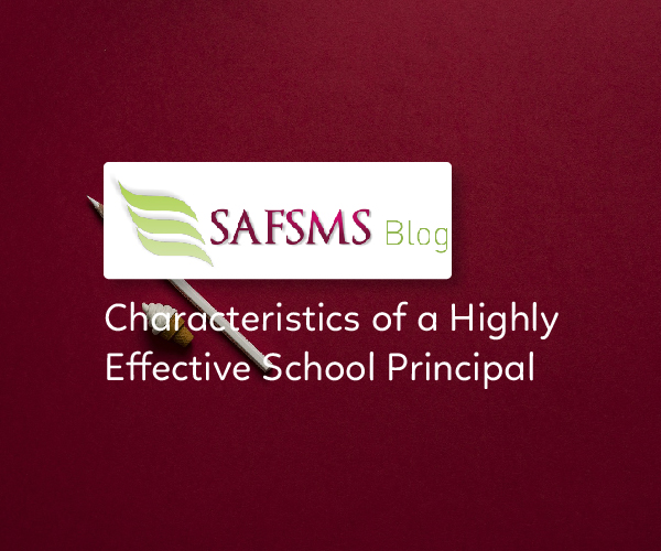 characteristics of a good school principal