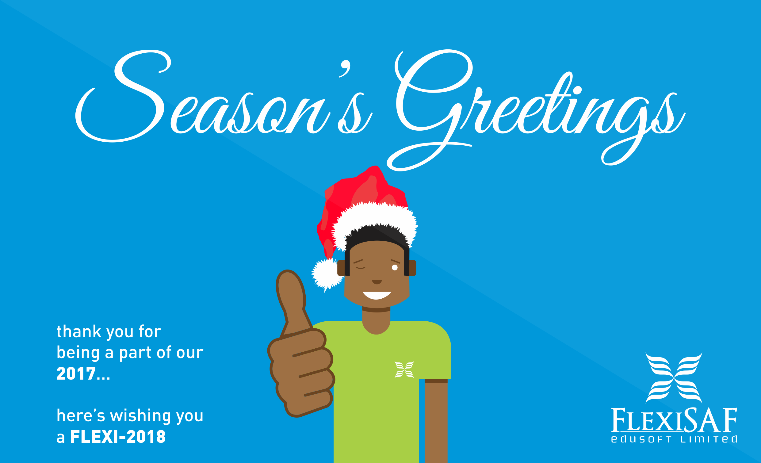 seasons greetings from flexisaf