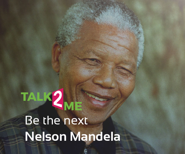 You Can Be The Next Mandela