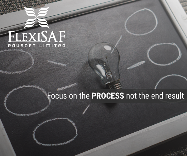 Focus On The Process, Not The Product