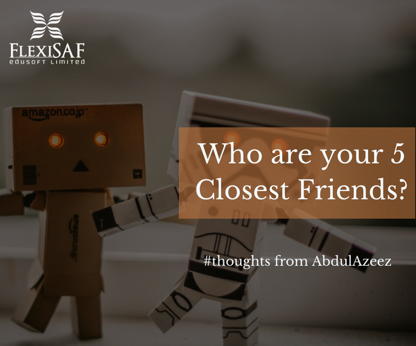 Who Are Your 5 Closest Friends?