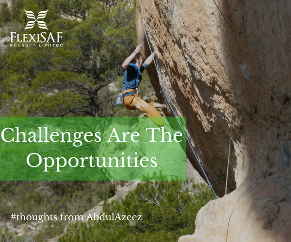 The Challenges Are The Opportunities