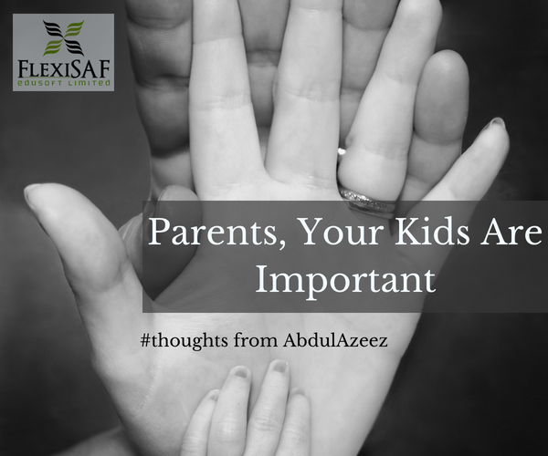 Parents, Your Kids Are More Important