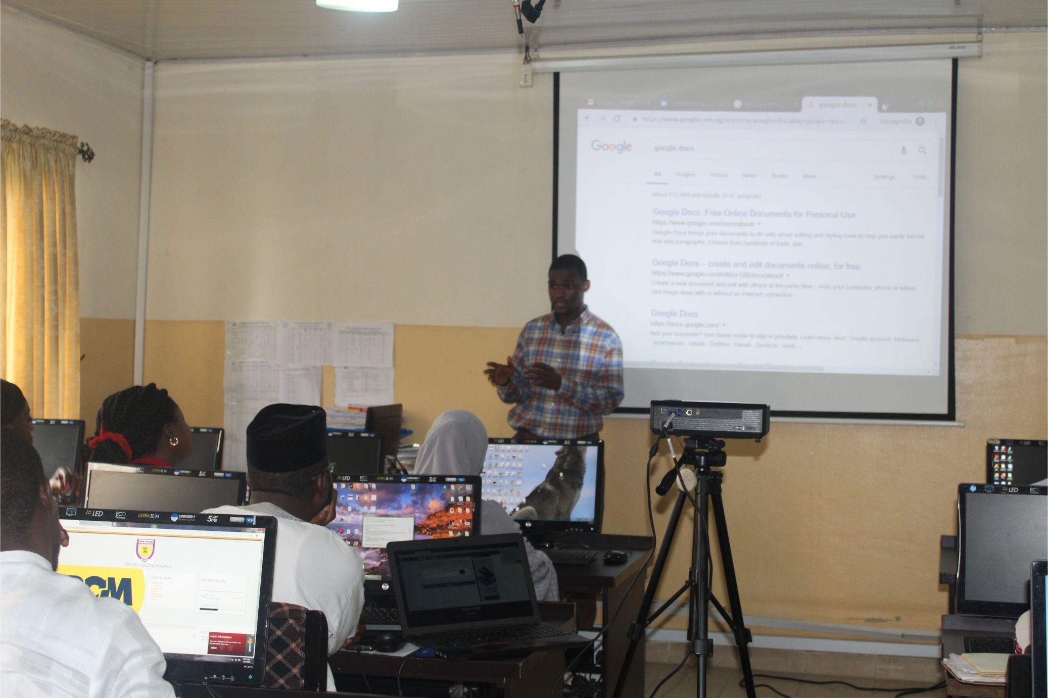 educonnect training session
