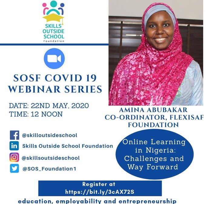 Webinar with Skills Outside School Foundation